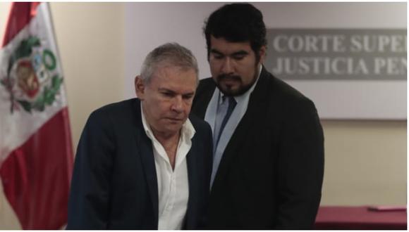 """Kabster  explicó que aún """"falta confirmar el trámite del pago de la caución económica"""" por parte de la familia de Castañeda Lossio para que este deje la prisión e inicie su arresto domiciliario. (Foto: GEC)"""