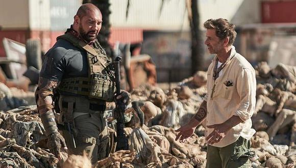 """Netflix lanzó el tráiler de """"El ejército de los muertos"""", la nueva película de Zack Snyder y reveló su fecha de estreno. (Foto: @davebautista)"""