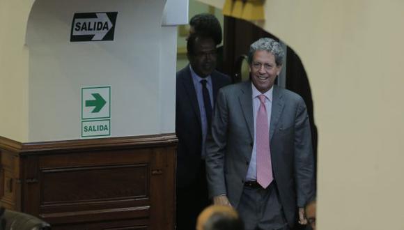 Alfredo Thorne formalizó el lunes su pedido para que Congreso vote la cuestión de confianza (David Huamaní)