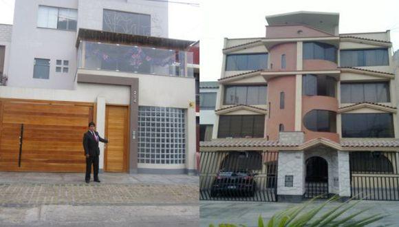 Descerraje. Estas son dos de las viviendas que son inspeccionadas al milímetro por la Policía. (Difusión)