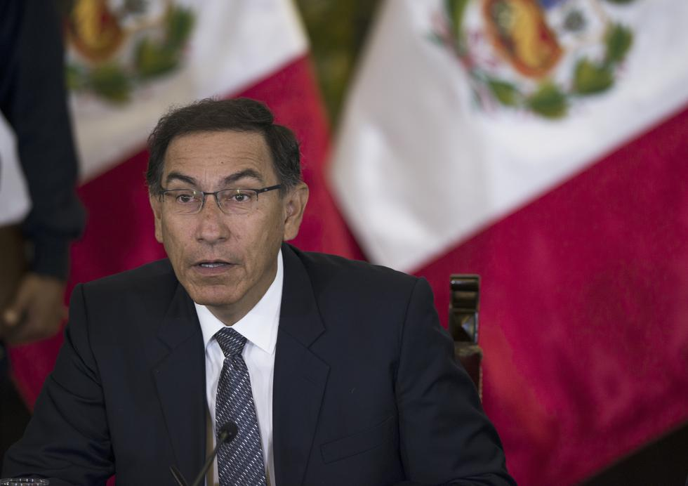 Martín Vizcarra. (AFP)