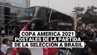 Copa américa 2021: Las postales de la partida de la selección a Brasil