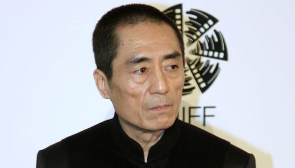 Famoso cineasta Zhang Yimou. (AFP)