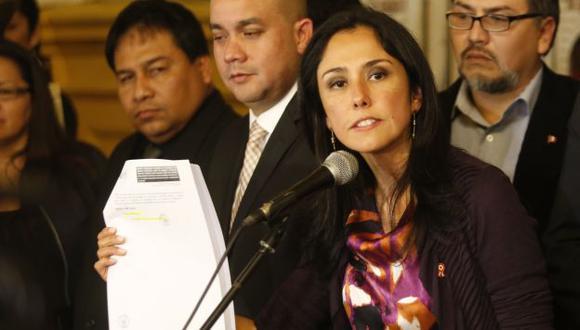 Citada. Nadine Heredia tendrá que declarar en la Fiscalía por aportes de dinero al Partido Nacionalista. (César Fajardo)