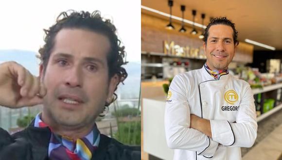 """Gregorio Pernía, actor que dio vida a Titi en """"Sin senos no hay paraíso"""", forma parte del elenco de """"Masterchef Celebrity"""". (Foto: Captura Canal RCN/@gregoriopernia)."""