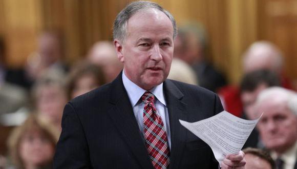 El ministro canadiense de Justicia, Rob Nicholson, salió a aclarar el tema. (Reuters)