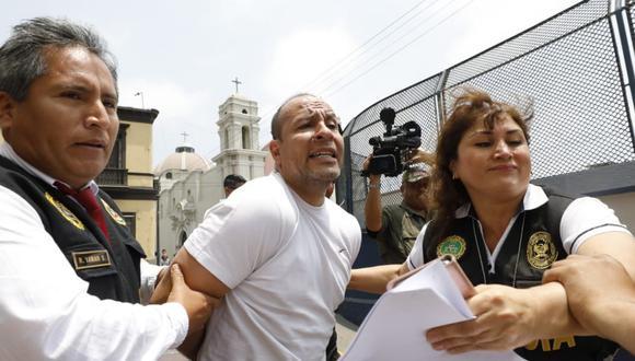 El abogado será trasladado al penal en medio de estrictas medidas de seguridad. (Foto: GEC)