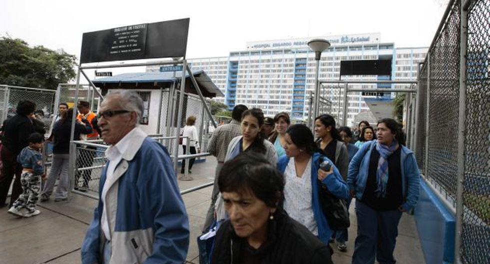 EL MÁS QUEJADO. Los servicios de Essalud son uno de los más quejados debido a la falta de infraestructura, profesionales y equipos. (Perú21)