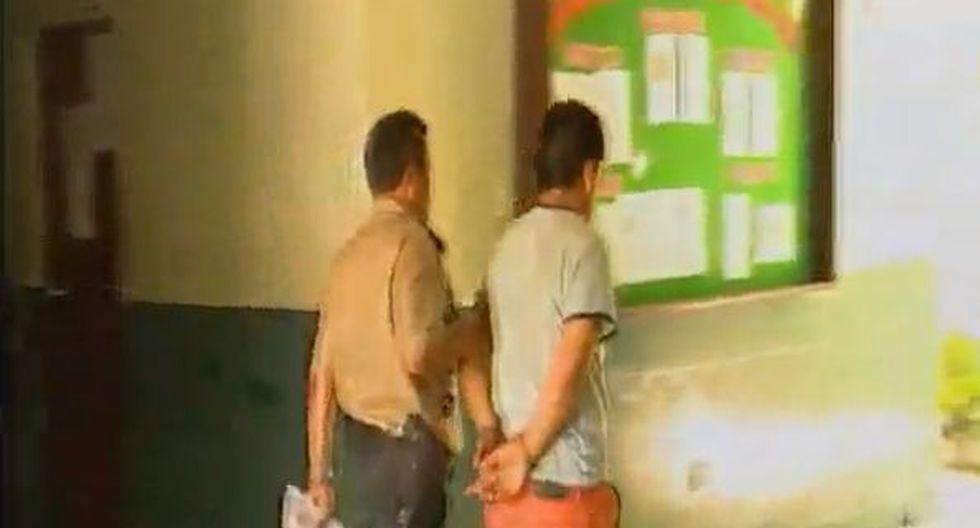 Herry Jonnior Tapia Llamo fue denunciado por los padres de la niña como responsable del abuso constatado por el área de medicina legal de la Policía Nacional.