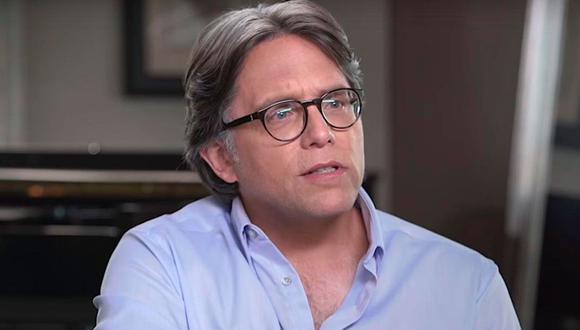 Keith Raniere, fundador de Nxivm, fue condenado por extorsión y tráfico sexual. (Captura de YouTube)