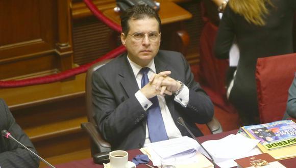 Omar Chehade: la lentitud de Fiscalía de la Nación lo favorece hasta ahora. (Rafael Cornejo)