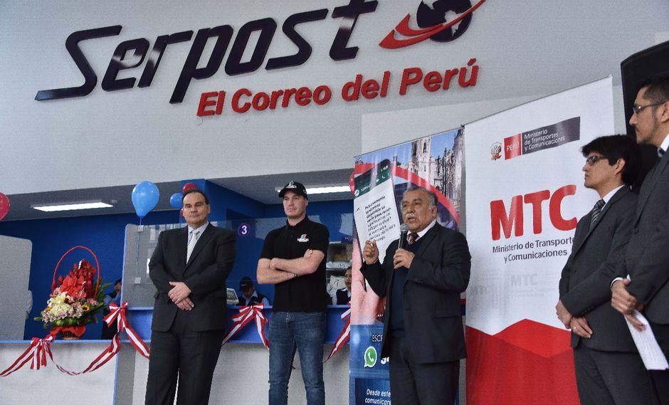 Los ciudadanos de La Victoria, San Luis, San Borja y Ate se podrán comunicar vía WhatsApp con Serpost. (Foto: MTC)