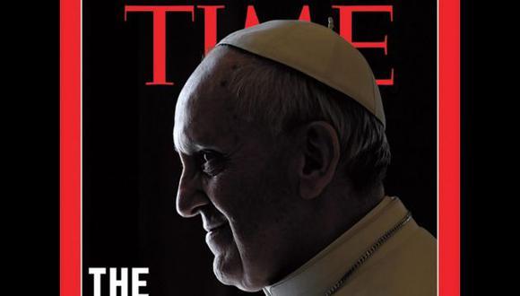 Papa Francisco luce con aire tenebroso en portada de Time. (EFE)