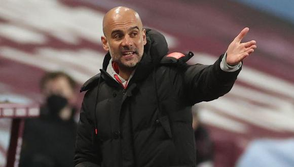 Pep Guardiola tiene contrato con Manchester City hasta mediados del 2023. (Foto: AFP)