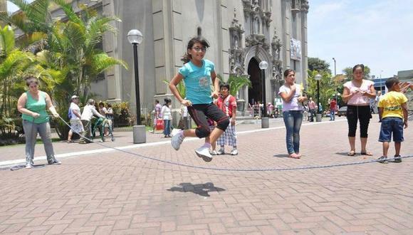 Evento un 'Abrazo por la Infancia' convocará a grandes y chicos en Miraflores.