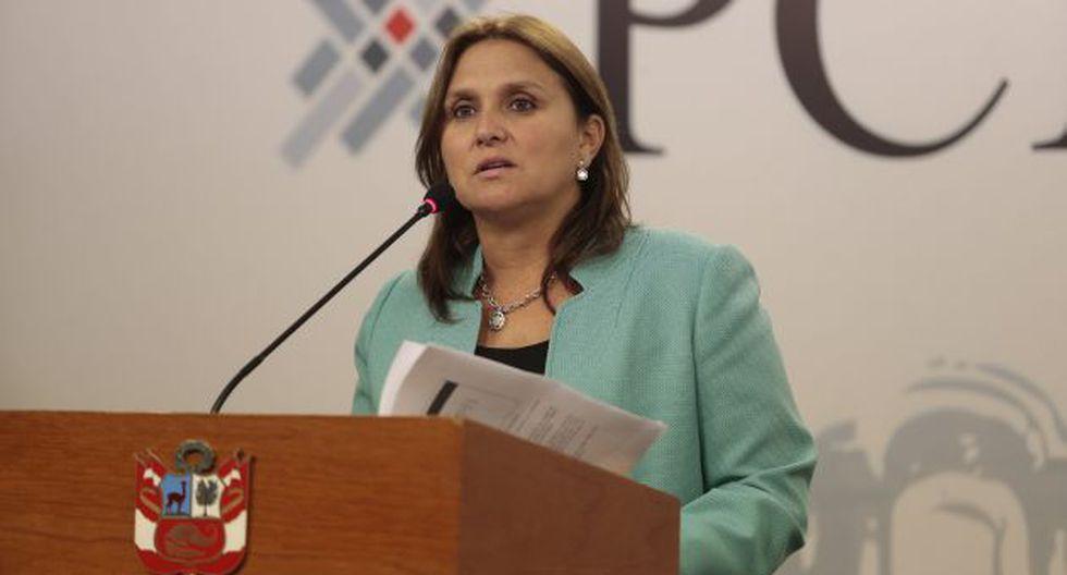 Marisol Pérez Tello le responde a Keiko Fujimori. (Atoq Ramón)