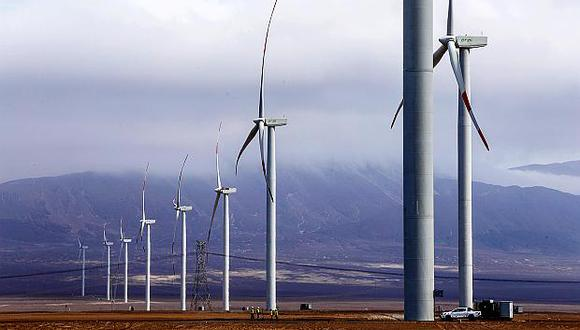 El Grupo Enel invirtió US$165 millones en el parque eólico Wayra I. (Foto: El Comercio)