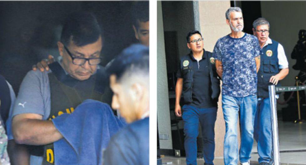 Fiscalía logró la detención de 20 de los 25 implicados en Rich Port II, entre elllos Juan Sotomayor y Víctor Albrecht (GEC).