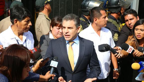 El fiscal Rafael Vela dijo que el fallo de Carlos Ramos debe ser analizado hasta desde el punto de vista penal. (Foto: Andina)