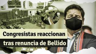 Guido Bellido renunció a la PCM y congresistas reaccionan de esta manera
