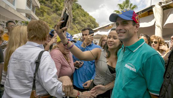 El líder opositor, Henrique Capriles, se pronunció respecto a las elecciones regionales de hoy (Efe).