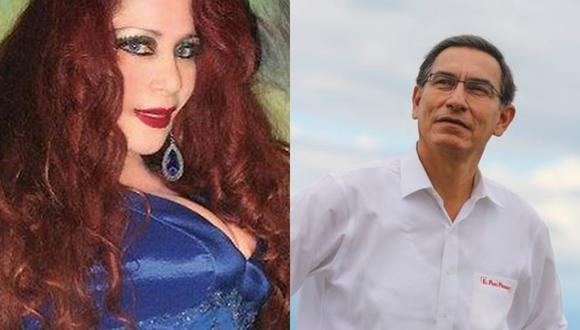 """Monique Pardo se dirige a Vizcarra y le pide SIS: """"Es mi derecho por ser un adulto mayor"""""""