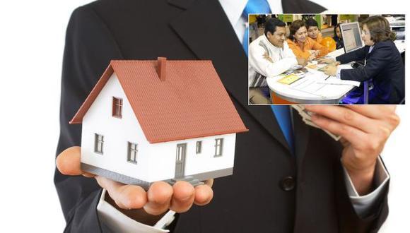 BCP y BBVA exigen un ingreso mínimo de S/.1,400 para otorgar un préstamo hipotecario. Scotiabank pide S/.1,000. (USI)