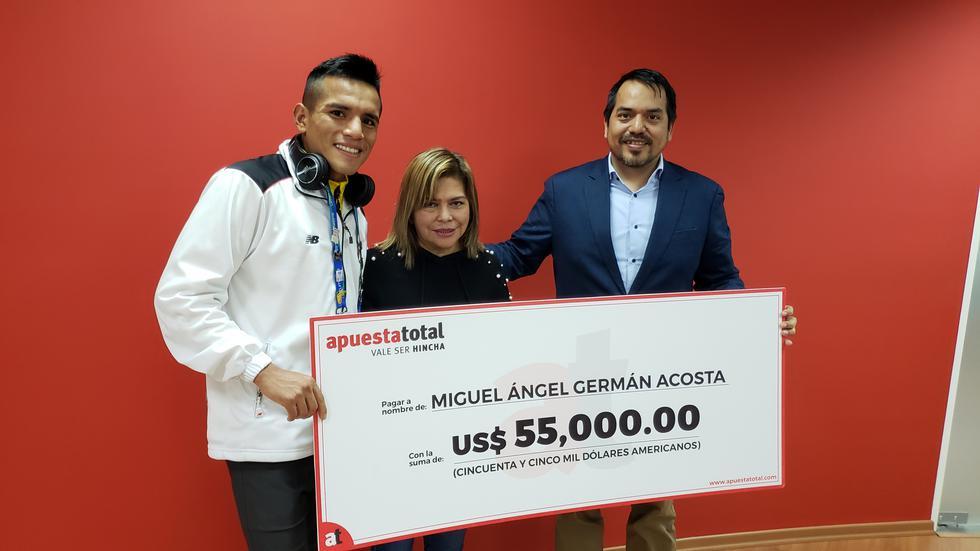 Miguel Ángel Germán Acosta podrá regalarle el departamento a su madre. (Difusión)
