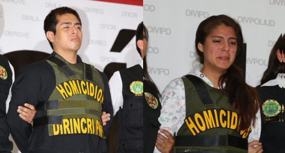 Pareja es acusada de haber asesinado a María Rosa Castillo. (Trome)