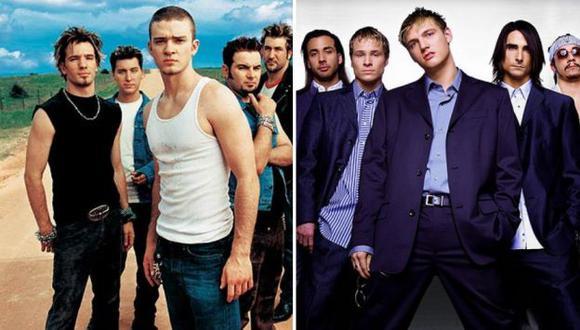 N'Sync y Backstreet Boys en pie de guerra. (ryanseacrest.com)