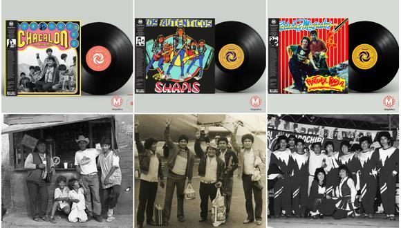 Remasterizan discos de Chacalón y La Nueva Crema, Los Shapis y Pintura Roja. (Discos Horóscopo)