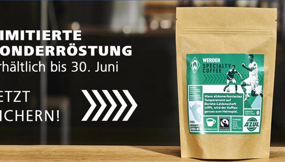 El club alemán Werder Bremen lanzó una edición limitada de café especial peruano en el marco de las celebraciones por el Día del Padre.