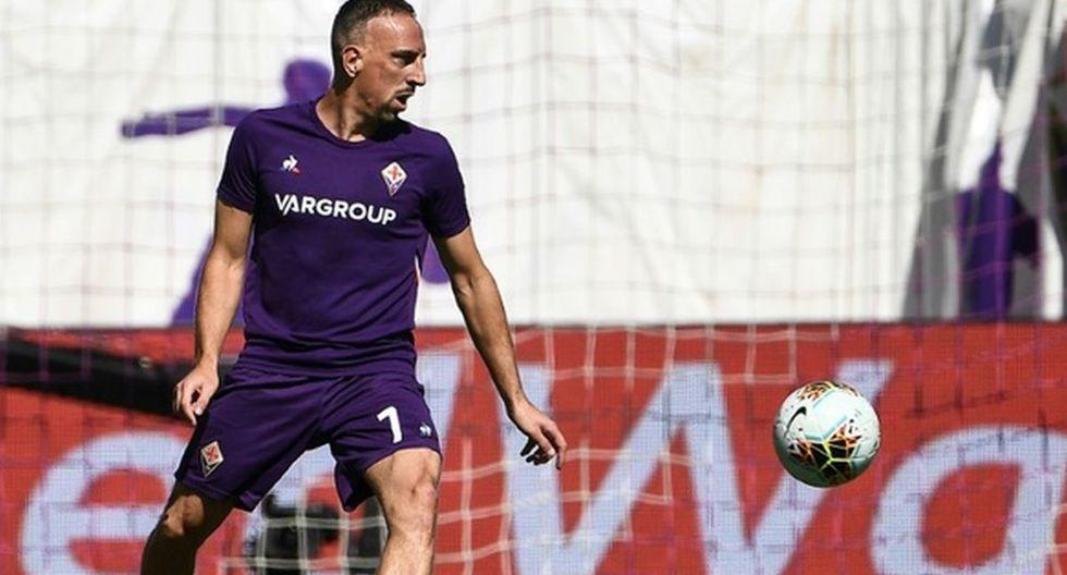 Franck Ribéry. (Agencias)