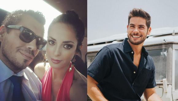 """Andrea Luna se pronuncia luego que el programa """"Magaly TV: La Firme"""" difundió 'ampay' de la actriz junto al actor Andrés Wiese.  (Foto: @andreswiese_r/@andrealunaoficial)."""