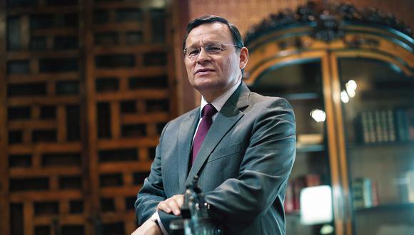 Néstor Popolizio. Ministro de Relaciones Exteriores. (Perú21)