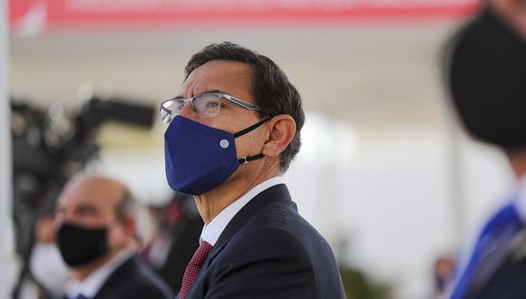 El presidente Martín Vizcarra indicó que es momento de una nueva declaración de independencia. (Foto: Presidencia)