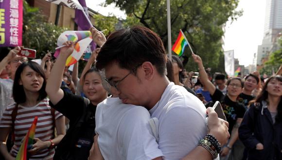 Esta aprobación coloca a Taiwán en la vanguardia del creciente movimiento por los derechos de los homosexuales en Asia. (Foto: EFE)