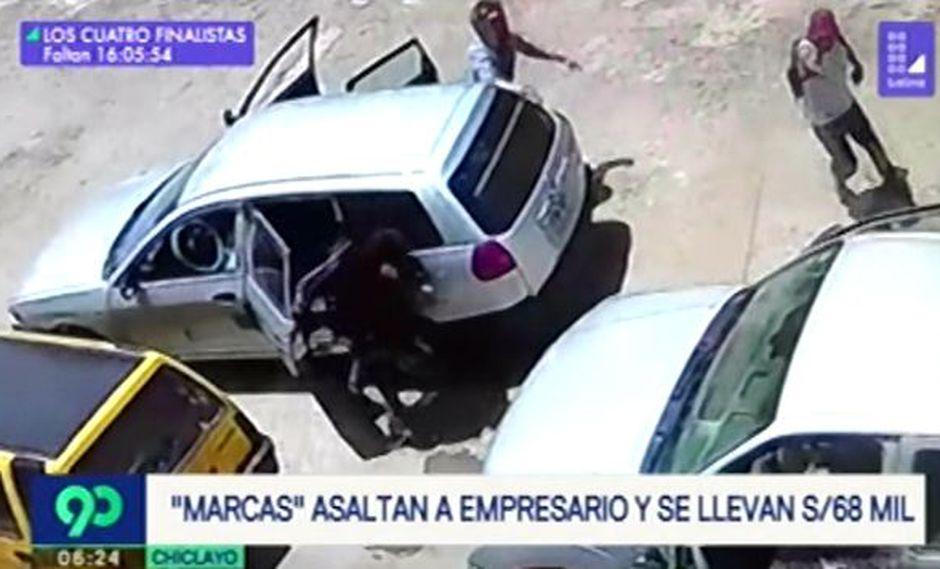 El asalto ocurrió en la urbanización La Primavera de la ciudad. (Foto: Captura/Latina)
