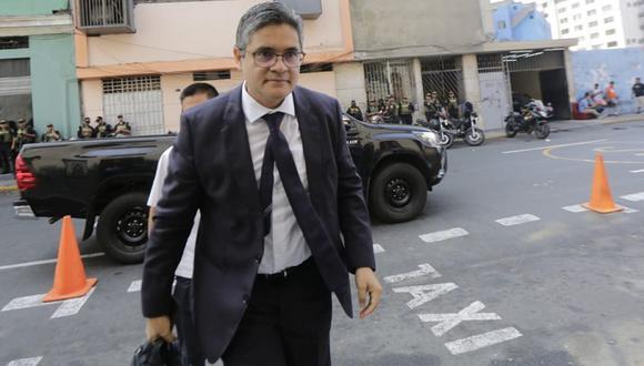 Pérez cuestionó que se pretenda llevar a cabo una audiencia de apelación en el caso de Keiko Fujimori durante el estado de emergencia. (Foto: César Zamalloa / GEC)
