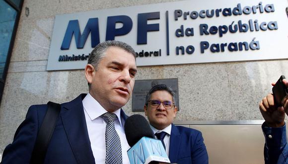 """El fiscal Rafael Vela Barba dijo que Jorge Barata deberá identificar los """"codinomes"""". (Foto: EFE)"""