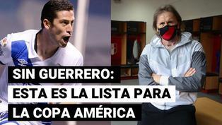 Sin Guerrero: Gareca y su sorpresiva lista para la Copa América