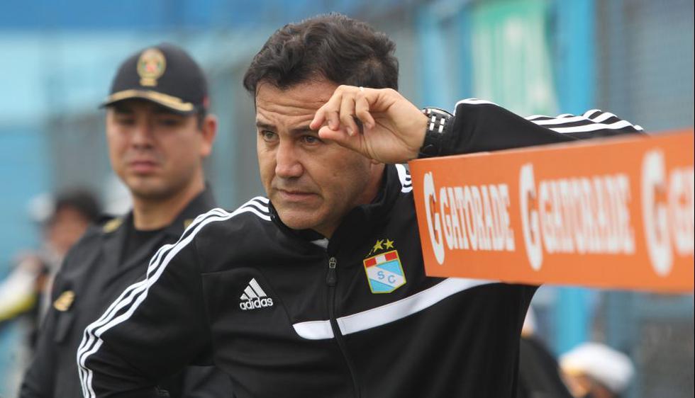 Daniel Ahmed cuestionó que el partido entre Cristal y Aurich se juegue a puerta cerrada. (Perú21)