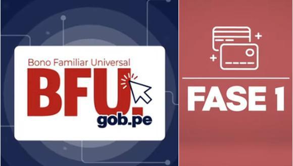El Segundo Bono Familiar Universal se viene entregando desde el sábado 10 de octubre y se han establecido cinco modalidades de paso (Foto: GEC)