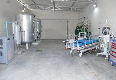 Lambayeque: ponen en funcionamiento planta de oxígeno en centro temporal Carlos Augusto Salaverry
