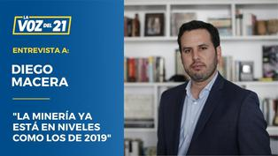 """Diego Macera: """"La minería ya está en niveles como los de 2019"""""""