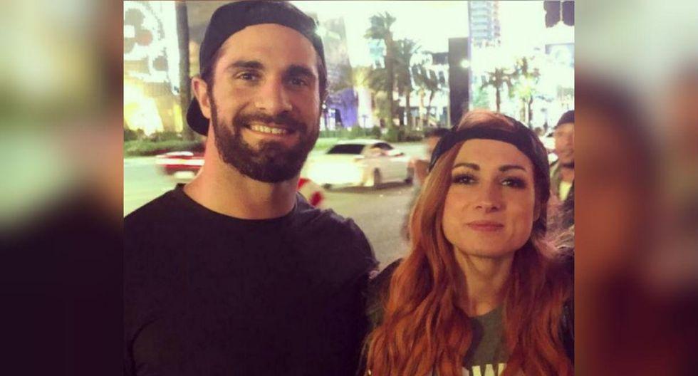 Seth Rollins y Becky Lynch, estrellas de la WWE, confirman romance. (WWE)