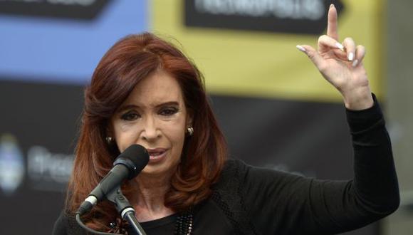 RESPALDO. Gobiernos de la región le desearon una pronta recuperación a la presidenta argentina. (AFP)