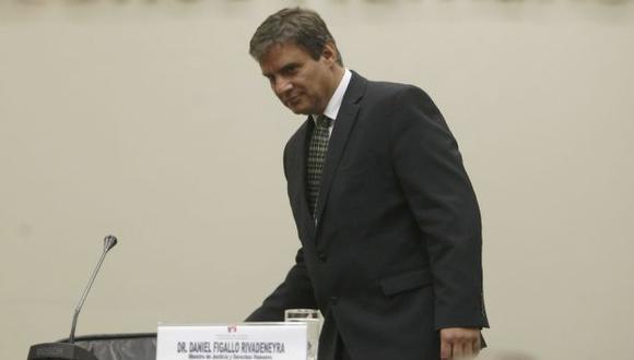 COMO PILATOS. Figallo liberó a narcotraficantes y ahora dice que él sólo presentó una recomendación. (Mario Zapata)