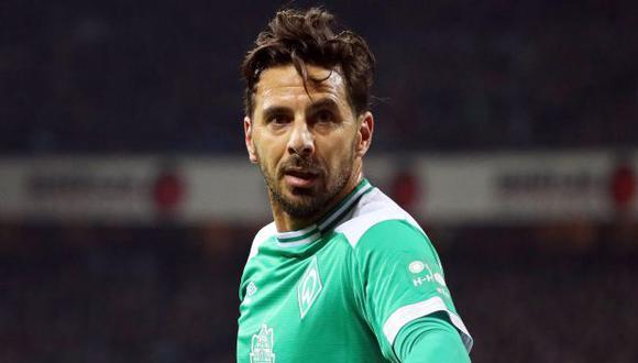 Claudio Pizarro es el máximo goleador extranjero de la Bundesliga, con 194 anotaciones. (Foto: EFE)