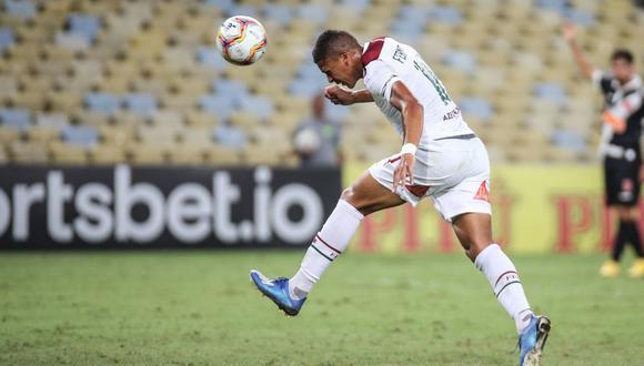 Pacheco anotó el 2-0 del Flu sobre Vasco por el grupo A de la Taça Rio. (Foto: Fluminense)